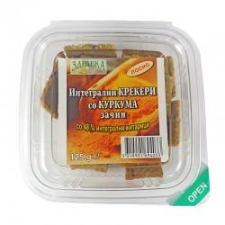 Интегрални крекери со куркума зачин