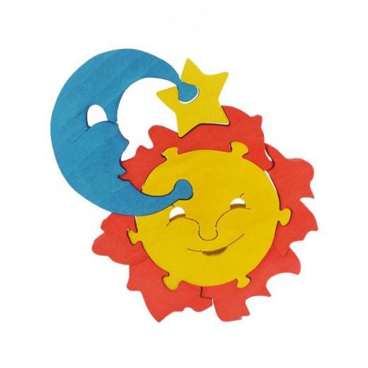 Сложувалка - Сонце и месечина