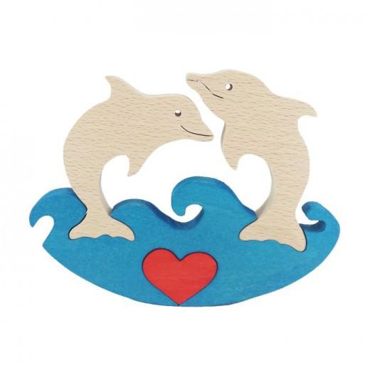 Сложувалка - Вљубени делфини