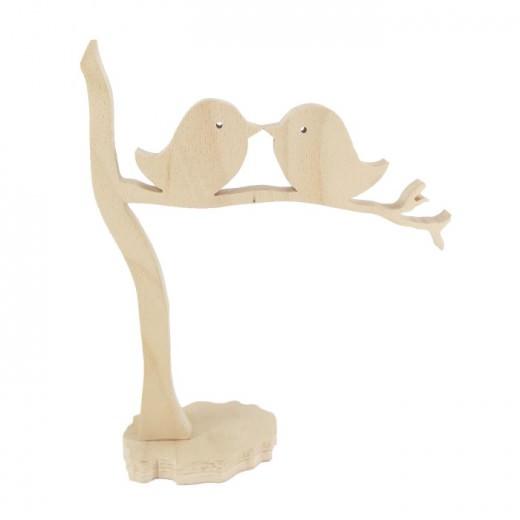 Вљубени пилиња на гранка